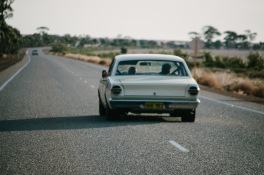From Kalgoorlie to Perth, the Great Eastern Highway is a 600 kilometre flat track of pockmarked bitumen, littered either side with empty bottles and toilet paper.