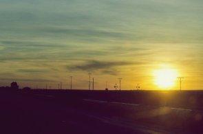 Toward the low sun