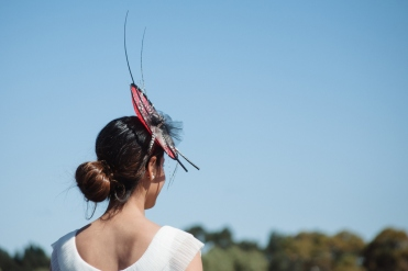 Some of the headwear on show from Fashions on the Field - Hannans Handicap | Discover The Round