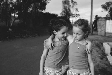 Sisters   Up on Kyle's Hill, Kalgoorlie.