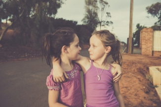 Sisters | Up on Kyle's Hill, Kalgoorlie.