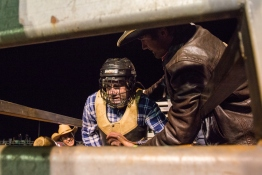 Paid-up, first-time bullrider waits for the chute to open before he gets nailed | DC Solutions Rodeofest Kalgoorlie.