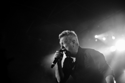 Jimmy Barnes in full-flight.