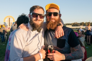 Rocking the beard, Kalgoorlie Cup.